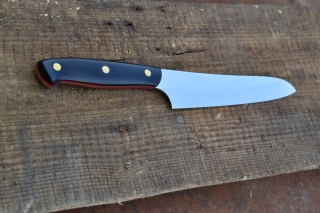 Кухонный нож 3 - сталь D2, G10.