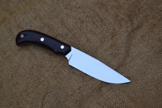 Нож Оса - сталь Х12МФ, фибра, латунь, G10.