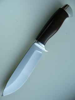 Нож Финский-сталь 95Х18, дюраль, венге.